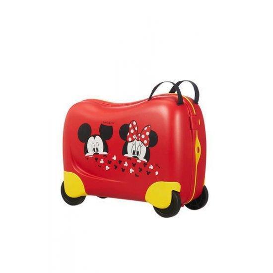 Куфар на 4 колела Samsonite Dreamrider Mickey/Minnie Peeking 39 см.