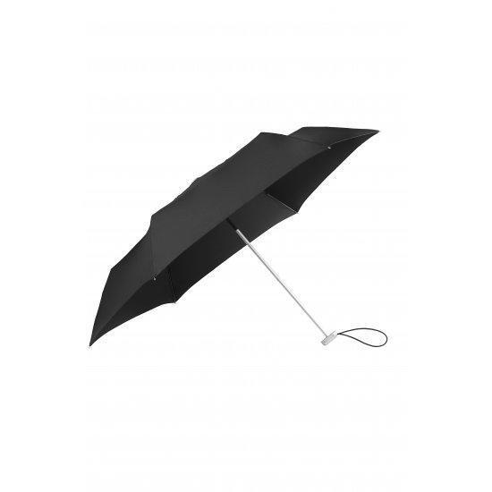 Тройно сгъваем ръчен чадър Samsonite Alu Drop S TM черен