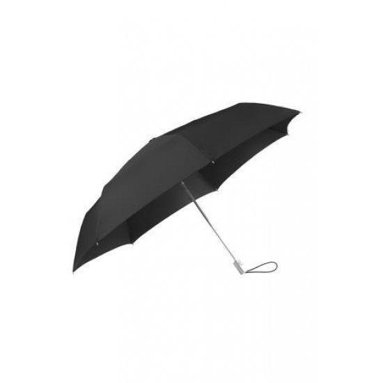 Тройно сгъваем автоматичен чадър Samsonite Alu Drop S TM черен