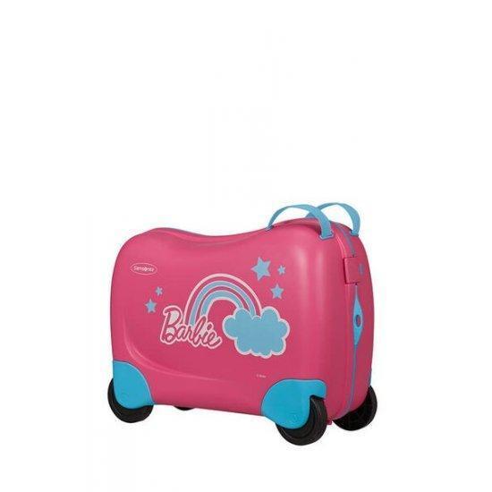 Куфар на 4 колела Samsonite Dreamrider Barbie Pink Dream 39 см.