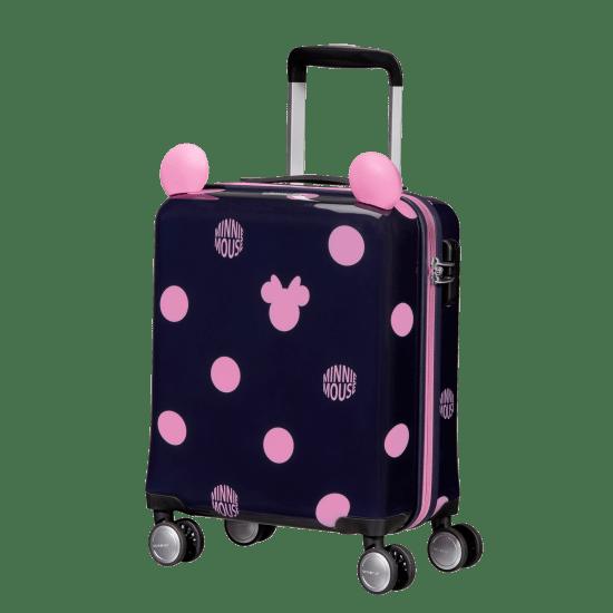 Куфар на 4 колела Samsonite Color Funtime Disney Minnie 45см. розови точки