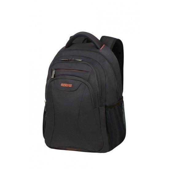 Раница за 39.6cм/15.6″ лаптоп American Tourister Work черно и оранжево