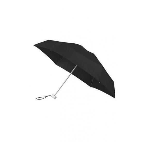 Петорно сгъваем ръчен мини-чадър Samsonite, черен