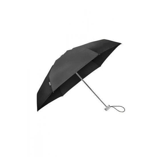 Петорно сгъваем ръчен мини-чадър Samsonite Alu Drop S TM, черен