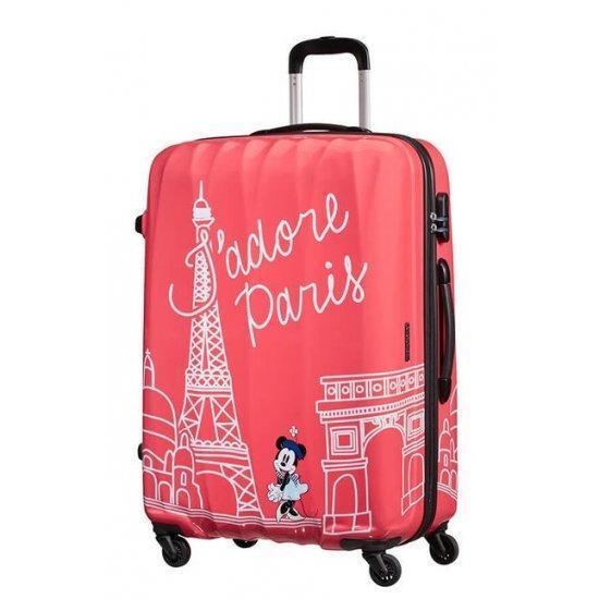 Куфар на 4 колелца American Tourister Disney Legends Minnie Paris 75 см