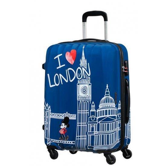 Куфар на 4 колелца American Tourister Disney Legends Mickey London 65 см