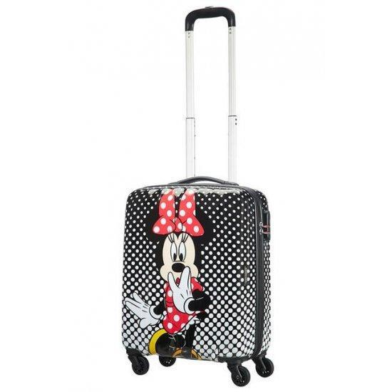 Куфар на 4 колелца American Tourister Disney Legends Minnie Mouse Polka Dot 55 Х 40