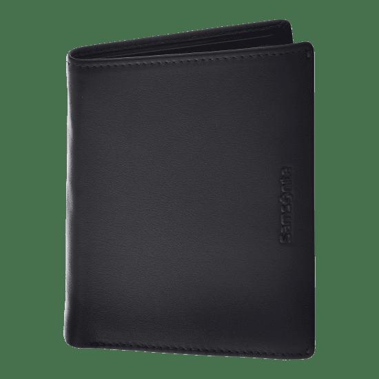 Портфейл от естествена кожа Samsonite Success 2 SLG, 10 CC, черен