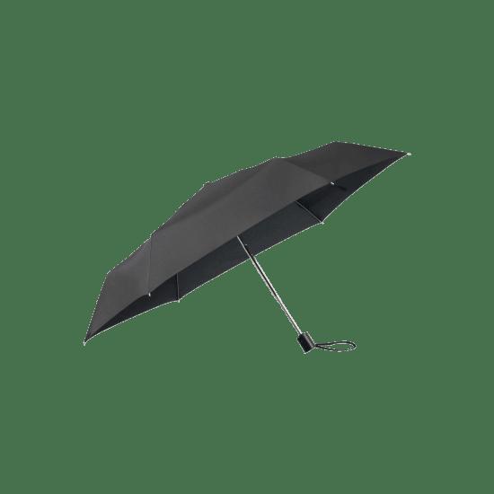 Тройно сгъваем автоматичен чадър Samsonite Plu Essential черен цвят