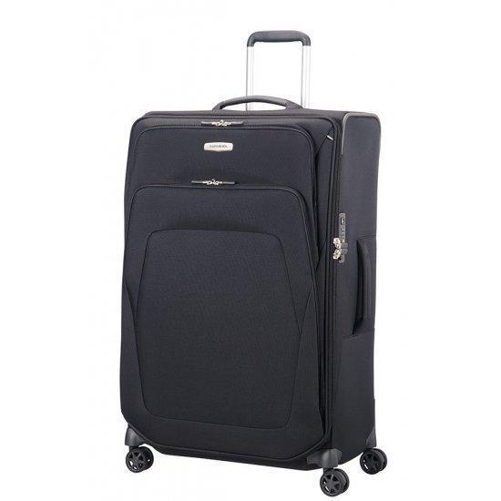Куфар на 4 колела Samsonite Spark SNG 82 см с разширение черен цвят