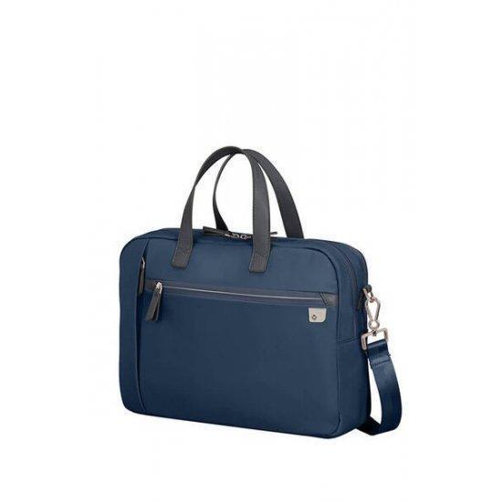 Дамска чанта Samsonite Eco Wave с отделение за 15,6 инча лаптоп, тъмносиня
