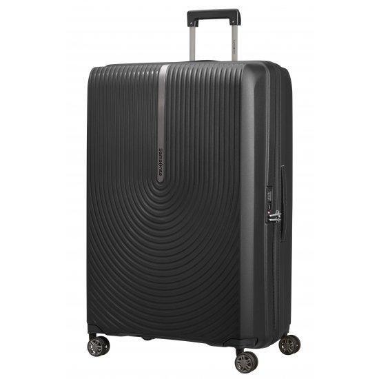 Куфар на 4 колела Samsonite Hi-Fi 81 см с разширение, черен