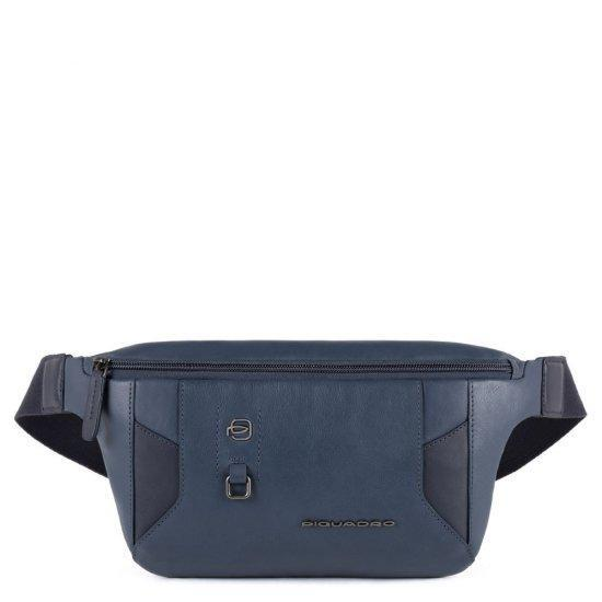 Чанта за през кръст Piquadro HAKONE, синя