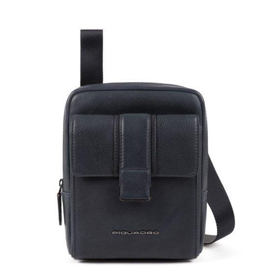 Вертикална чантичка за рамо Piquadro KOBE с отделение за iPad MINI_ MINI 2_ iPad MINI 3 в синя