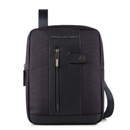 Вертикална чантичка за рамо Piquadro Brief с отделение за iPad AIR - iPad Pro 9,7 тъмносиня