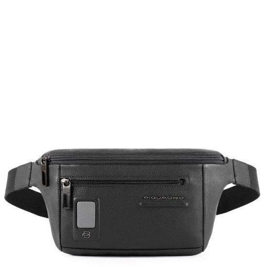 Чанта за през кръст Piquadro AKRON, черна