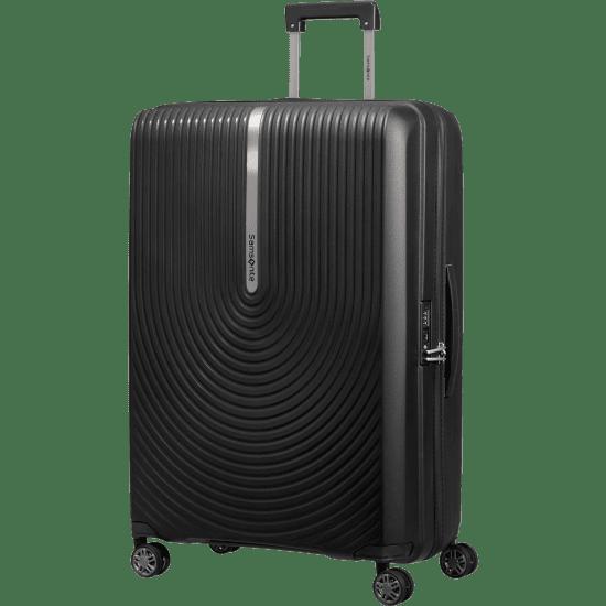 Куфар на 4 колела Samsonite Hi-Fi 75 см с разширение, черен