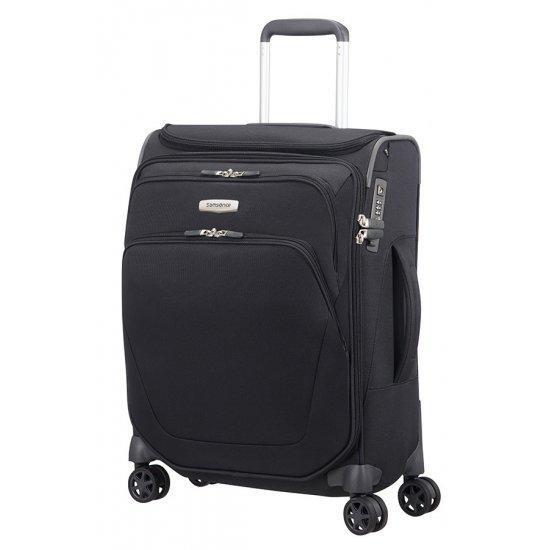 Куфар на 4 колела Samsonite Spark SNG 55 см, черен