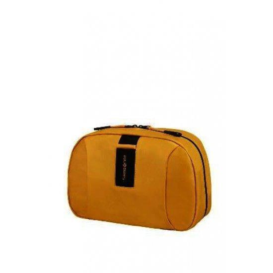 Органайзер за тоалетни принадлежности Samsonite, с кука за окачване, жълт