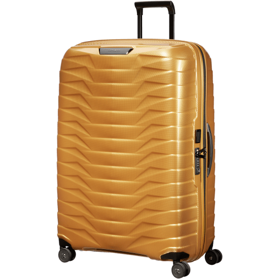 Куфар на 4 колела Samsonite Proxis 81см, златист