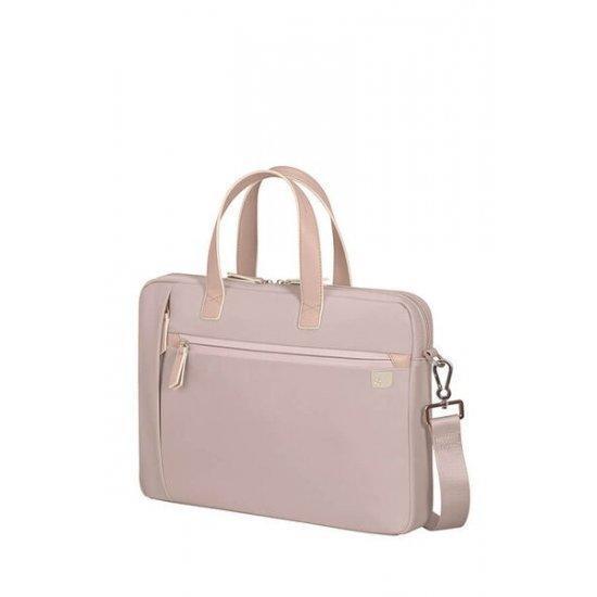Дамска чанта Samsonite Eco Wave с отделение за 15,6 инчов лаптоп Stone Grey