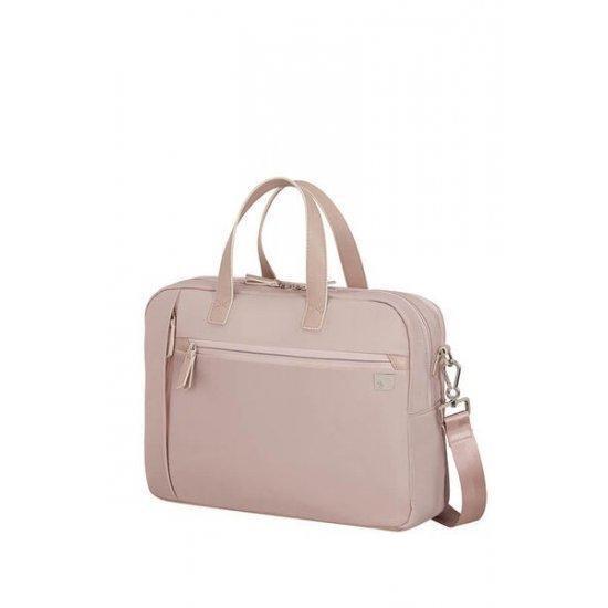 Дамска чанта Samsonite Eco Wave с за 15,6 инчов лаптоп две отделения Stone Grey