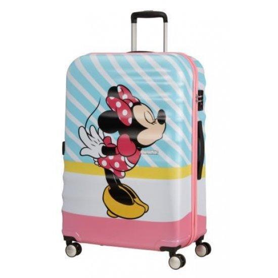Куфар на 4 колела 77 см. American Tourister MINNIE PINK KISS