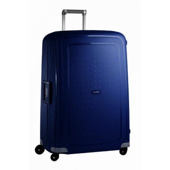 Куфар на 4 колела Samsonite S'Cure 81 см тъмносин, голям размер
