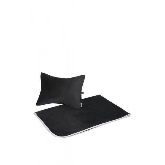 Комплект за път Samsonite Travel Accessories, черен цвят