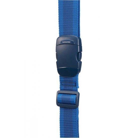 Универсален син колан за пристягане на багаж Samsonite