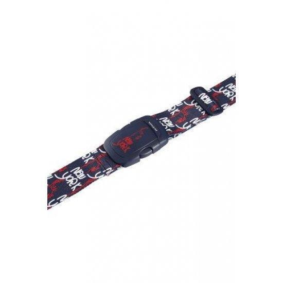 Универсален колан за пристягане на багаж Samsonite, черен