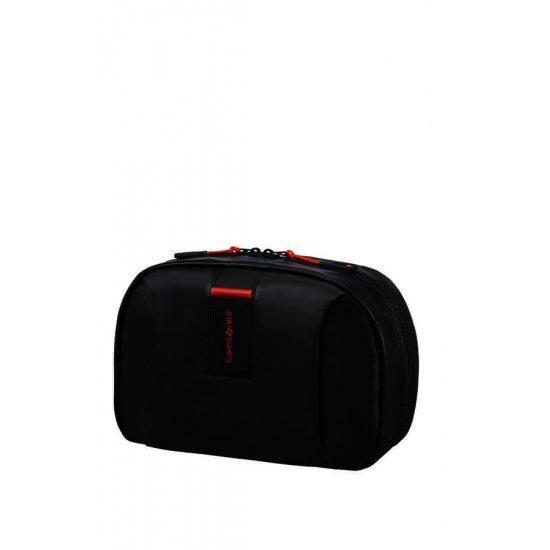 Органайзер за тоалетни принадлежности Samsonite, с кука за закачване, черен