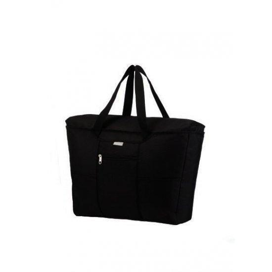 Дамска сгъваема чанта Samsonite с калъфче, черна