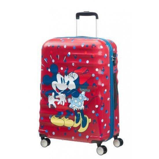 Куфар на 4 колела 67 см. America Tourister Wavebreaker Minnie Loves