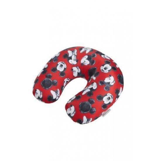 Мека възглавница за път Samsonite Mickey/Minnie Red
