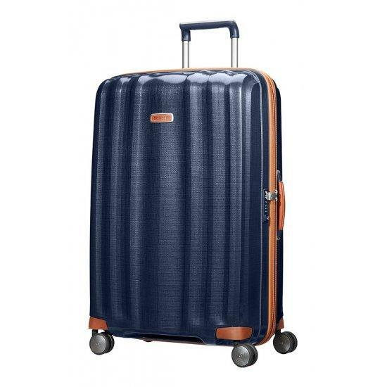 Куфар на 4 колела Samsonite Lite-Cube DLX 82 см. син