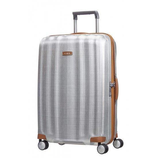 Куфар на 4 колела Samsonite Lite-Cube DLX 82 см цвят алуминий