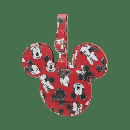 Етикет за куфар Samsonite Mickey/Minnie Red