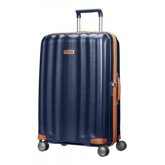 Куфар на 4 колела Samsonite Lite-Cube DLX 76 см син