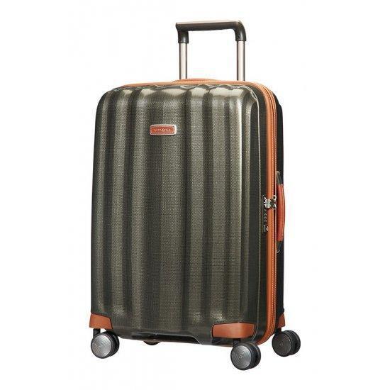 Куфар на 4 колела Samsonite Lite-Cube DLX 68 см цвят тъмнозелен