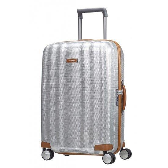 Куфар на 4 колела Samsonite Lite-Cube DLX 68 см цвят алуминий