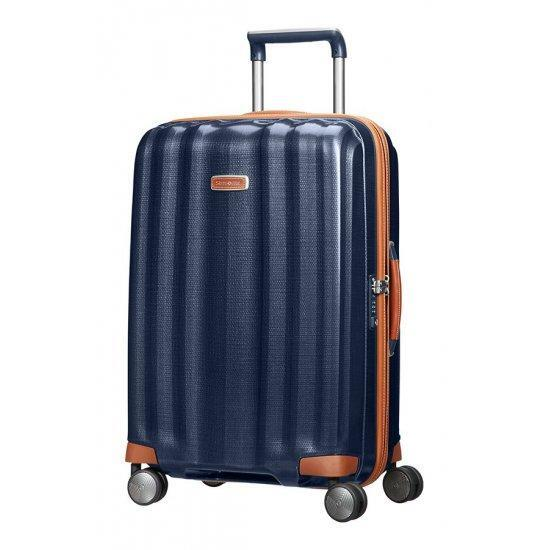 Куфар на 4 колела Samsonite Lite-Cube DLX 68 см, тъмносин