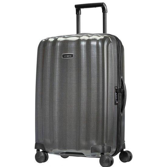 Куфар на 4 колела Samsonite Lite-Cube DLX 68 см, сив