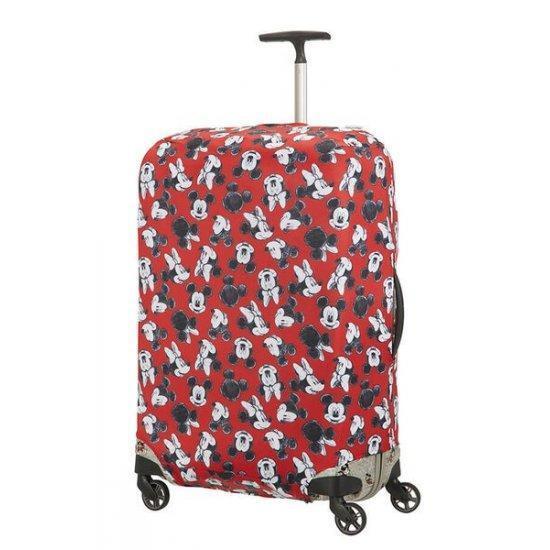 Калъф за куфар ХL Samsonite Travel Accessories 86см Mickey/Minnie Red