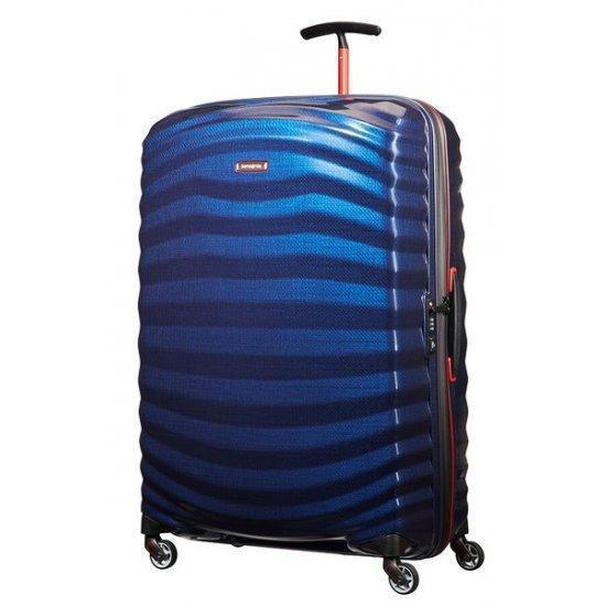 Куфар на 4 колела Samsonite Lite-Shock Sport 81см Nautical Blue/Red
