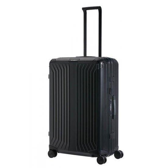 Куфар на 4 колела Samsonite Lite-box ALU 76 см. черен