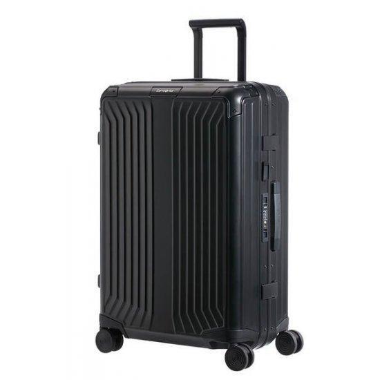 Куфар на 4 колела Samsonite Lite-box ALU 69 см. черен