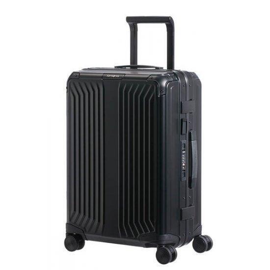 Куфар на 4 колела Samsonite Lite-box ALU 55 см. черен