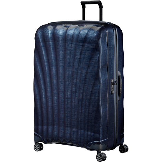 Куфар на 4 колела Samsonite C-Lite 86 cm, тъмносин
