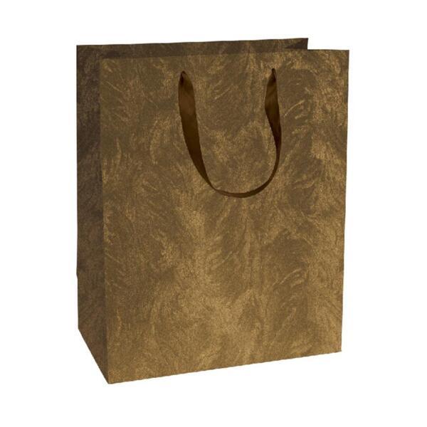 Подаръчно пликче Unicart - Galactic Brown, 23x18x10 см